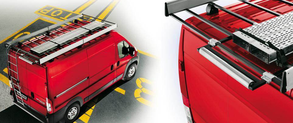 изготовление багажников на фургон