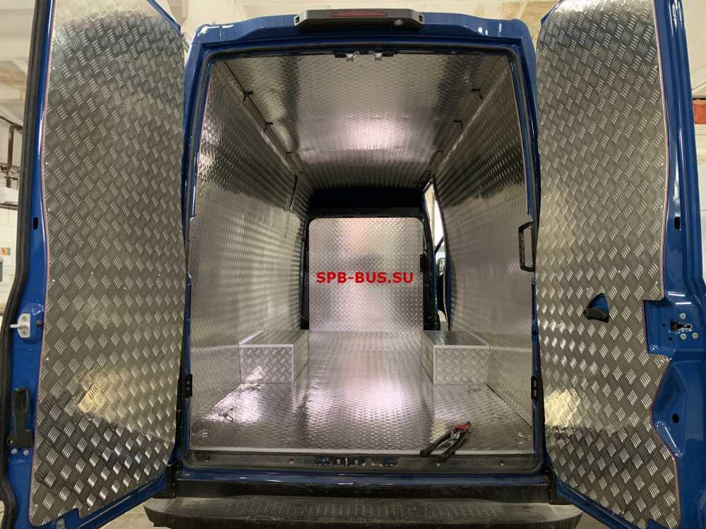 обшить фургон своими руками алминием